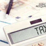 Tax being calculated for small businesses